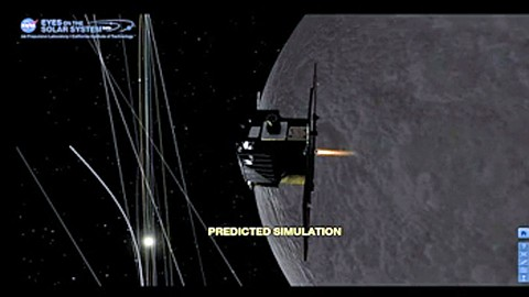 Nasa - Grail-A erreicht den Mond