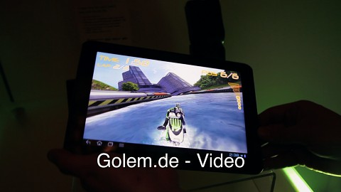 Acer Quadcore-Tablet - Hands on (CES 2012)