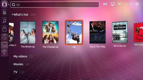 Ubuntu TV - Demo