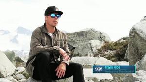 Snowboarder Travis Rice über SSX