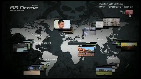 Version 2.0 der AR.Drone-App - Herstellervideo