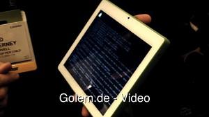 OLPCs XO-3 - Hands on (CES 2012)
