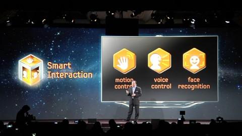 Samsungs Smart Interaction für TV (CES 2012)
