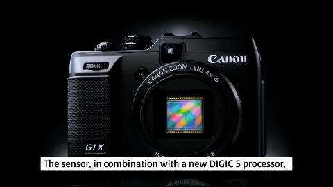 Canon Powershot G1 X - Herstellervideo