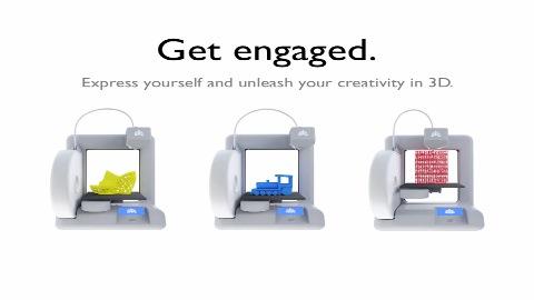 3D-Drucker Cube - Herstellervideo