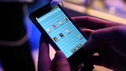 Intel-Smartphone mit Atom Z2460 - Hands on (CES)