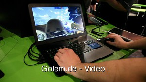 Razer Blade 17 - Hands on (CES 2012)