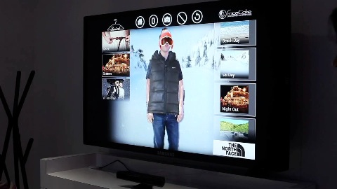 Facecake zeigt Swivel - virtueller Ankleideraum