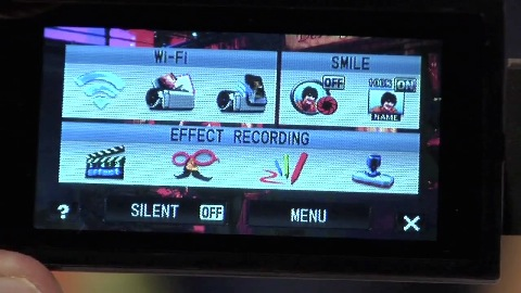 JVC Camcorder Everio mit Wifi (CES 2012)