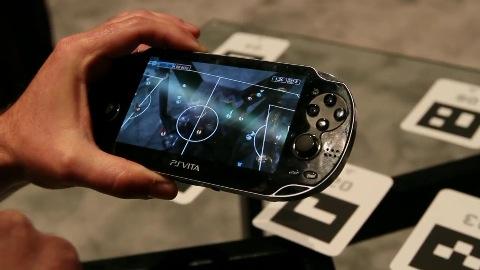 Augmented-Reality-Fußball für Playstation Vita