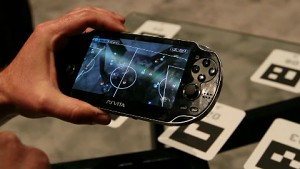 Augmented-Reality-Fußball für Playstation Vita