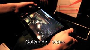 Projekt Fiona von Razer - Hands on (CES 2012)