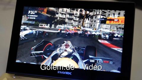 DirectX 11 unter Ivy Bridge mit echtem Ultrabook (CES 2012)