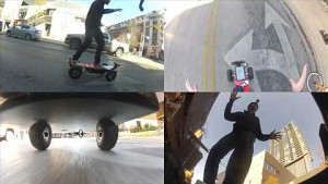 Skateboard mit Kinect-Steuerung - Chaotic Moon
