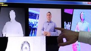 Microsoft Kinect Fusion - Demo (CES 2012)