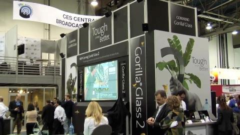 Corning über Gorilla-Glas 2 (CES 2012)