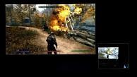 Skyrim mit Splashtop auf einem Tablet gespielt