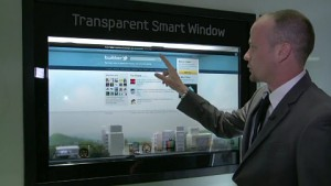 Samsungs transparentes Smart Window - CES 2012
