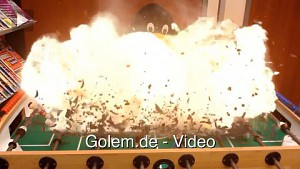 Action Movie FX - Explosionen im Golem.de-Büro
