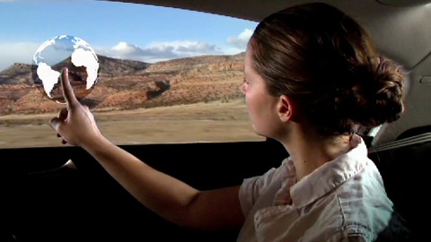 Interaktives Autofenster - GM