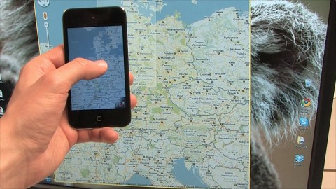 Virtual Projection - iPhone als virtueller Beamer