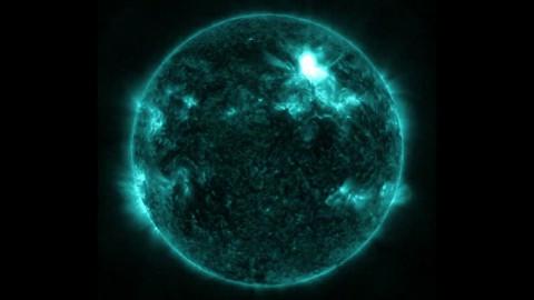 Nasa dokumentiert stärkste Sonneneruption seit 2005