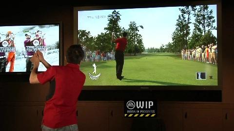 Tiger Woods PGA Tour 13 - Kinect-Funktionen