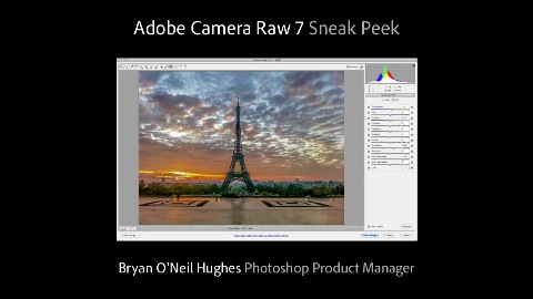 Photoshop Camera Raw 7 - Trailer