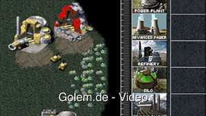 Command and Conquer in Google Chrome gespielt