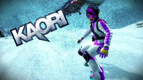 SSX - Trailer (Spielfigur Kaori)