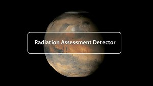 Radiation Assessment Detector - Marsrover Curiosity