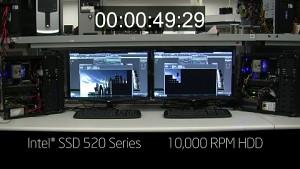 Intel zeigt SSD 520 mit 3DS Max im Vergleich