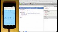 Remote Debugging in Chrome für Android