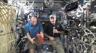 ISS-Crew beantwortet Fragen von Youtube-Nutzern