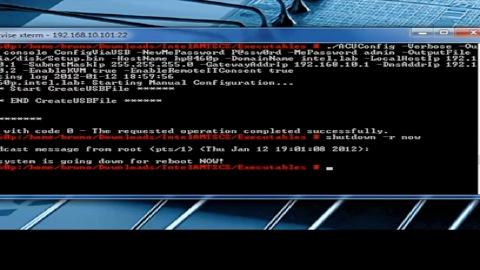 Intel - vPro mit Linux für Admins konfiguriert