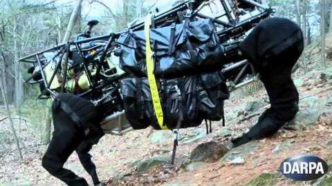 Roboter Alpha Dog im Gelände - Darpa