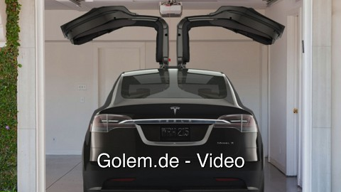 Tesla Motors Model X - Vorstellung