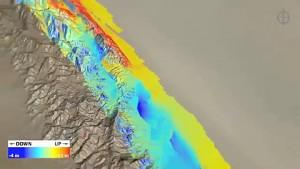 3D-Visualisierung von Erdbebengebieten