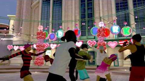 Valentinstag Love Fest auf Playstation Home - Trailer