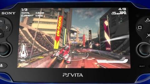 Wipeout 2048 - Trailer (Launch, Vita)
