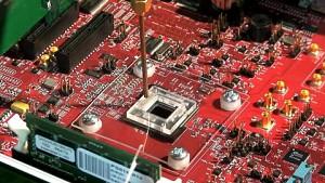 Atom-CPU mit integriertem WLAN