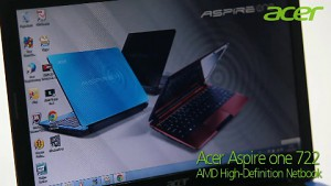 Acer Aspire One 722 HD Netbook - Trailer