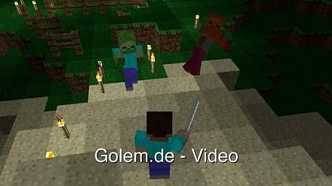 Minecraft Pocket Edition Alphaversion 0 2 0 Video Golem De
