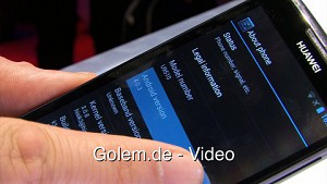 Huawei Ascend D Quad - Hands on (MWC 2012)