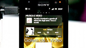 Sony Xperia P - Hands on (MWC 2012)