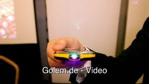 Samsung Galaxy Beam - Demo (MWC 2012)