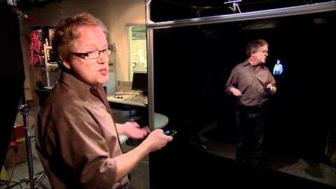 Interaktiver Spiegel Holoflector