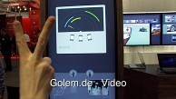Steuerung mit Tiefenkamera von Oblong (MWC 2012)