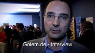 Bob DeSantis stellt Docusign-App vor (MWC 2012)