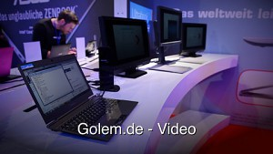 Toshiba Dynadock - Hands on (Cebit 2012)